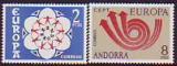 CEPT - Andorra sp. 1973 **