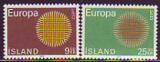 CEPT - Island 1970 **