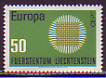 CEPT - Liechtenstein 1970 **
