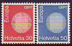 CEPT - Schweiz 1970 **
