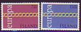 CEPT - Island 1971 **