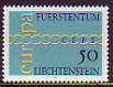 CEPT - Liechtenstein 1971 **