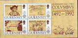 CEPT - Großbritannien - Guernsey Block 1992 **