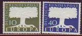 CEPT - BUND 1957 Mi.-Nr. 268/69 **