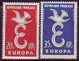 CEPT - Frankreich 1958 **