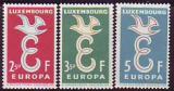 CEPT - Luxemburg 1958 **