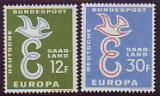 CEPT - Saarland 1958 **