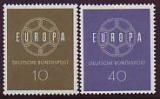 CEPT - BUND 1959 **