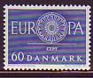 CEPT - Dänemark 1960 **