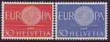 CEPT - Schweiz 1960 **