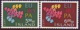 CEPT - Island 1961 **
