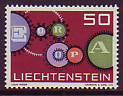 CEPT - Liechtenstein 1961 **
