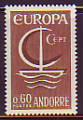 CEPT - Andorra frz. 1966 **