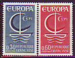 CEPT - Frankreich 1966 **