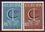 CEPT - Island 1966 **