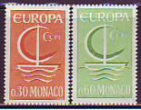 CEPT - Monaco 1966 **