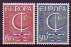 CEPT - Norwegen 1966 **