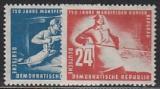DDR Mi.-Nr. 273/74 **