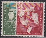 Bund Mi.-Nr. 153/54 **