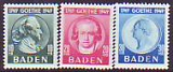 Baden Mi.-Nr. 47/49 **