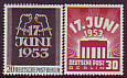 Berlin Mi.-Nr. 110/11 **