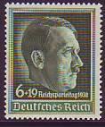 Deutsches Reich Mi.-Nr. 672 x **