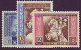 Deutsches Reich Mi.-Nr. 820/22 **