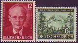 Deutsches Reich Mi.-Nr. 855/56 **