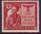 Deutsches Reich Mi.-Nr. 863 **