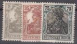 Deutsches Reich Mi.-Nr. 102/04 **