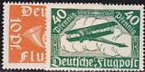 Deutsches Reich Mi.-Nr. 111/12 **