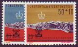 Liechtenstein-Mi.-Nr. 389/90 **
