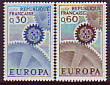 Frankreich - Mi.-Nr. 1578/1579 **