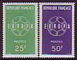 Frankreich - Mi.-Nr. 1262/1263 **