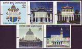 Vatikan ATM Mi.-Nr. 1/5 **